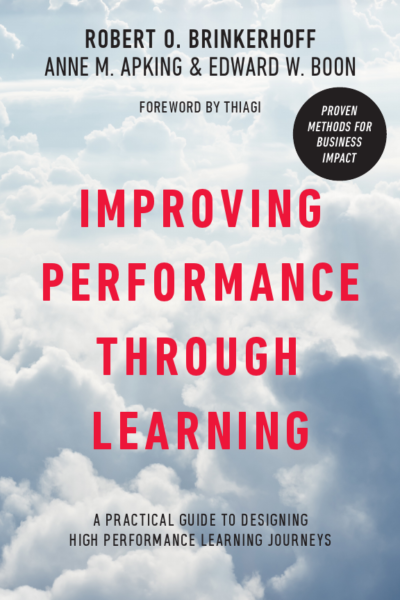 Cover of the book Improving performance through learning